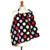 Palm & Pond Breastfeeding Cover - Spotty Dots