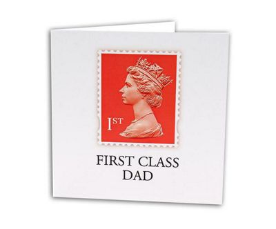 Gift Republic Stamp Collection Greetings Card First Class Dad