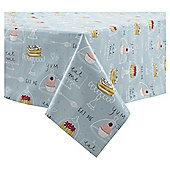 Tea & Treats Wipe Clean Tablecloth, 180x130cm