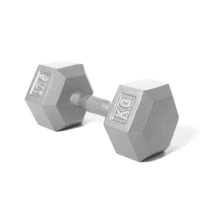 Body Power 17.5Kg Hex Cast Iron Dumbbell (x1)