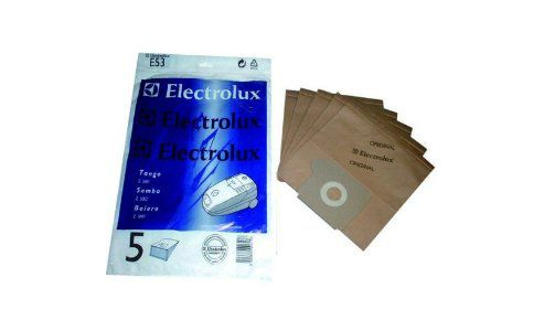 Electrolux 9001959585 E53N Pack Of 5 Dustbags, 1 Motor & 1 Micro Filtrer