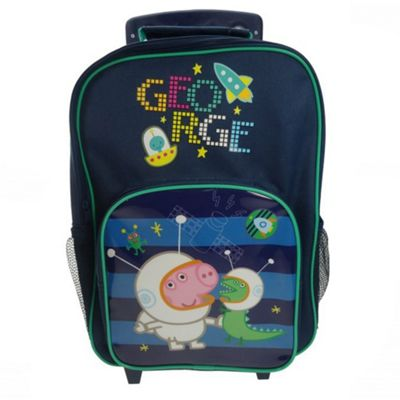 Buy Peppa Pig George  Astronaut  Wheeled Bag from our Peppa Pig ... ed6a04a9a7687