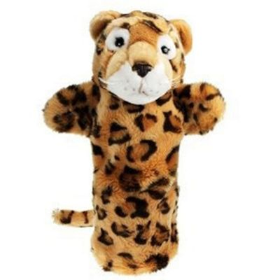 The Puppet Company Long Sleeved Glove Puppet Leopard
