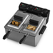 Tower Dual Basket Deep Fryer 6L