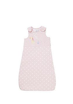 F&F Polka Dot 2.5 Tog Sleepbag - Pink