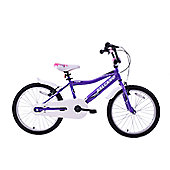 "Salcano Excel 20"" Wheel Kids BMX Bike Purple"