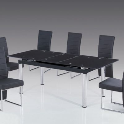 Solway Furniture Zone Extending Dining Table
