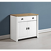 Valufurniture Ludlow Sideboard White/Oak