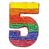 Number 5 Pinata