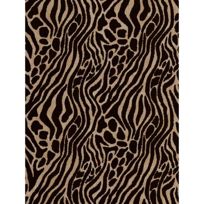 Graham & Brown Julien MacDonald Flock Easy Tiger Wallpaper - Caffe Gold