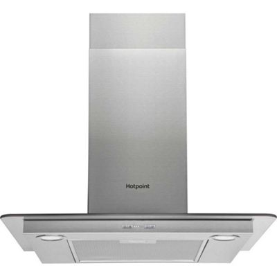 Hotpoint Chimney Cooker Hood, PHFG6.5FABX, 60cm - Stainless steel