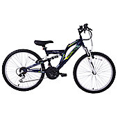 "Arden Peak 24"" Wheel Dual Suspension MTB Kids Bike"