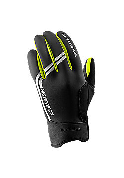 Altura Night Vision Windproof Cycling Glove - Black & Yellow