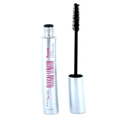 Maybelline Illegal Length Mascara Black - Fiber Extensions (Brown 6.9ml)