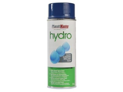 Plasti-kote Hydro Spray Paint Dark Blue Gloss 350ml
