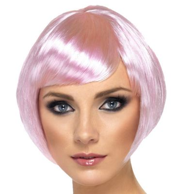 Smiffy's - Babe Bob Wig - Pink