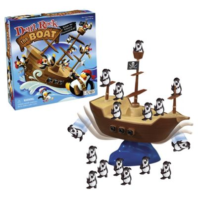 Don't Rock The Boat Board Game
