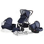 KinderKraft Moov Travel System - Blue
