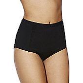 F&F Active High Waisted Bikini Briefs - Black
