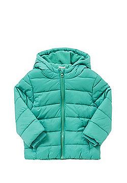 F&F Shower Resistant Padded Coat - Green