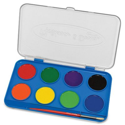 Melissa and Doug Jumbo Watercolor Paint Set (8 colors)