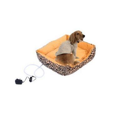 PawHut Dog Heated Bed Electric / Cat Kitten Heater Pad Sleeper Mat Safe