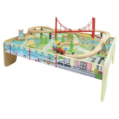 Tesco Train Table Set