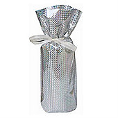 Gift Mate Hologram Silver Bottle Bag