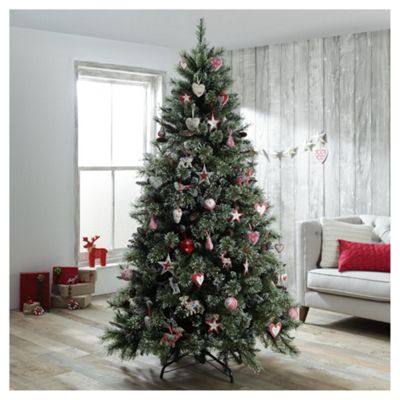 Buy Dobbies Ullswater Snow Tip Christmas Tree, 7ft from our ...