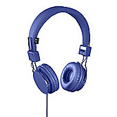 KitSound Malibu On-Ear Headphones, Blue