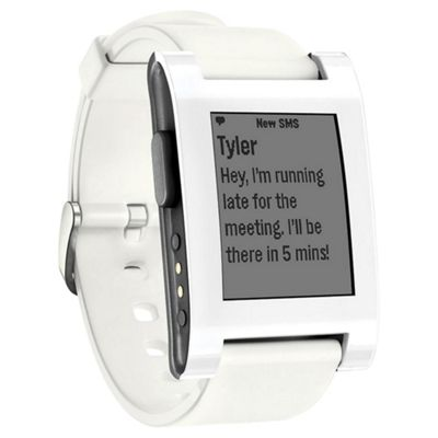 buy pebble classic smartwatch white from our all fitness pebble classic smartwatch white