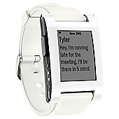 Pebble Classic Smartwatch, White