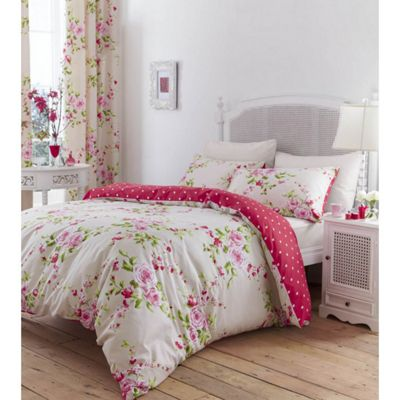 Canterbury Double Duvet Set - Red