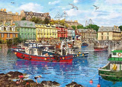 Cobh Harbour - 1000pc Puzzle