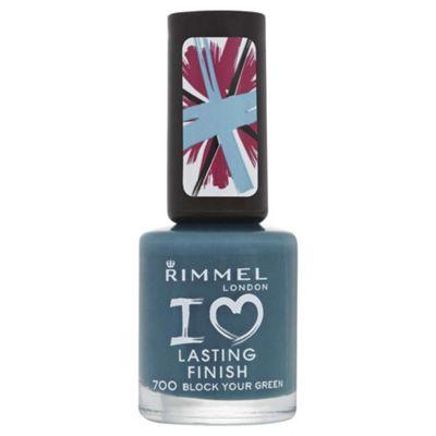 Rimmel London Lasting Finish 700 Block Your Green 8ml