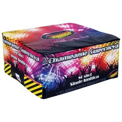Champagne Supernova 80 Shot Firework