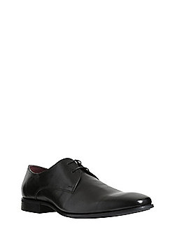 F&F Leather Gibson Shoes - Black