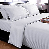 Homescapes White Egyptian Cotton Duvet Cover and Pillowcases 330 TC, King