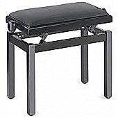 Stagg PBF39 Piano Stool - Highgloss Black