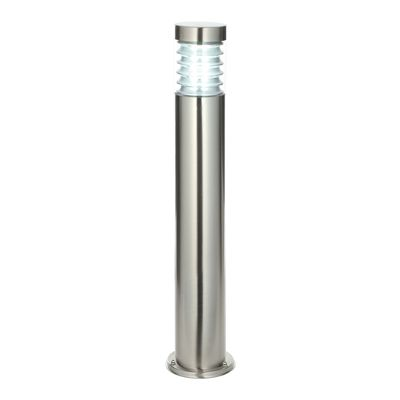 Equinox Bollard 23W Floor Lamp Light Marine Grade Brushed Steel