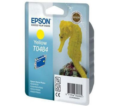 Epson T0484 Yellow Ink Cartridge for Yellow Photo R200/R300/R320/R340/RX500/RX600/