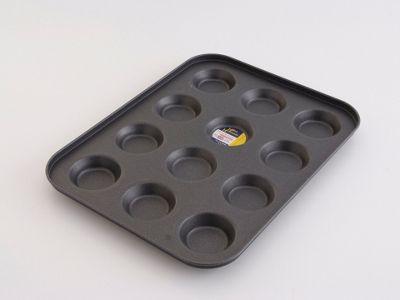 Home Bake 4005 N/S Deep Bun Tray 12 Cup 36x26cm
