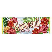 Boland Hawaii Party Hawaiian Luau Paradise Themed Tropical Banner 220 x 74cm