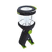 Powerful LED Clamplight Lantern and Flashlight, 230 Lumen - Blackfire BBM910