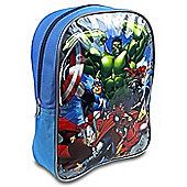 Avengers 'Superheroes' Pvc Front School Bag Rucksack Backpack