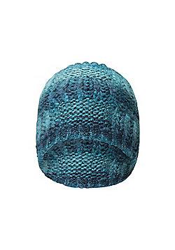 Mountain Warehouse Ocean Knit Womens Beanie - Blue