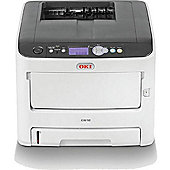 Oki A4 Colour Laser Printer 36ppm Mono34ppm Colour 1200 X 600 Dpi 3 Years On-site Warranty