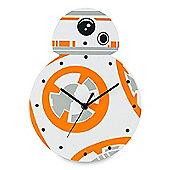 Star Wars BB-8 Shaped Wall Clock