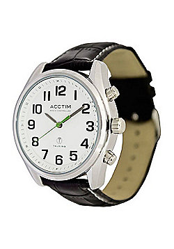 RNIB Gents Radio Controlled Talking Watch