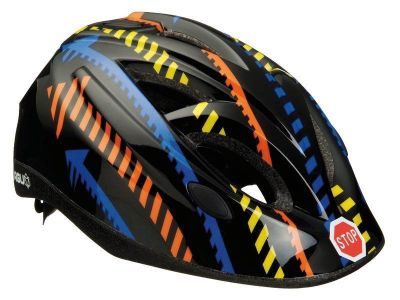 Agu Traffic In Mould Kids Bike Helmet 52-57cm Black